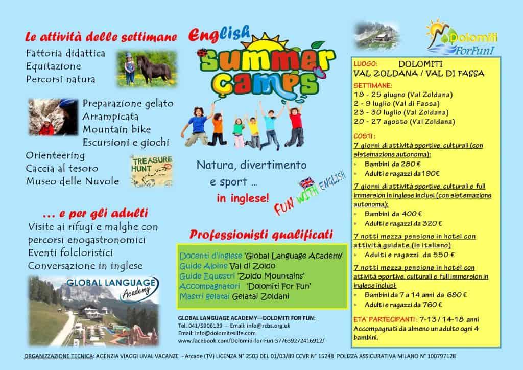 FLYER SUMMER CAMP A4